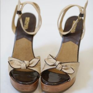 Michael Kors Wooden Wedges